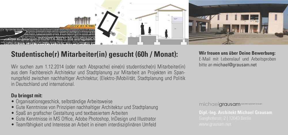 Stellenangebot Für Studentischen Mitarbeiterin In Berlin